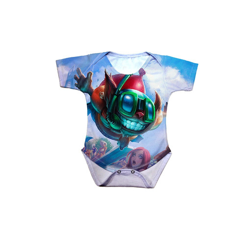 body bebê league of legends ziggs curtindo o verão