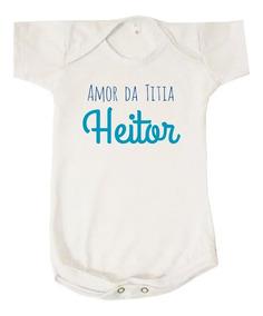 d39398721 Body Infantil Menina Titia - Bodies de Bebê no Mercado Livre Brasil