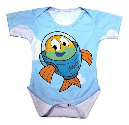 body bebê peixonauta o.s.t.r.a