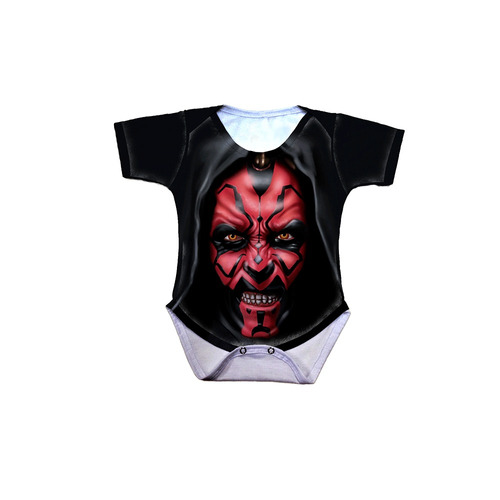 body bebê star wars darth maul