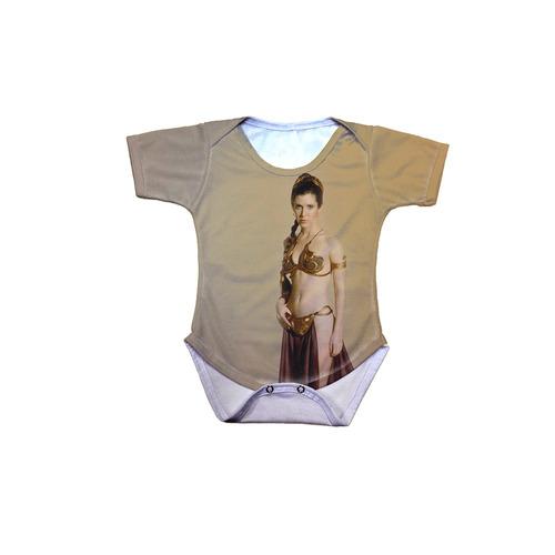 body bebê star wars princesa leia bikini