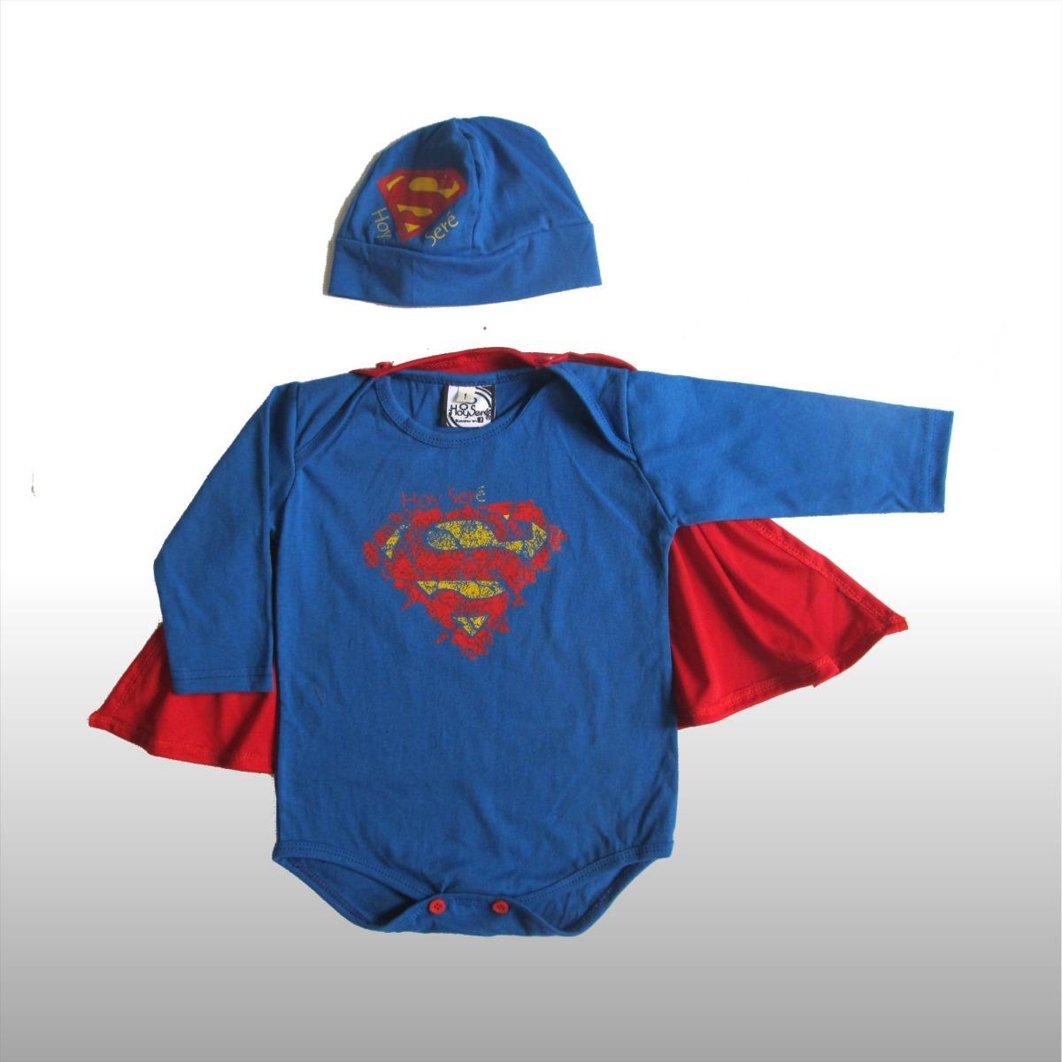 body bebe con gorrito y capa superheroe batman superman. Cargando zoom. 69fcfdcee1c