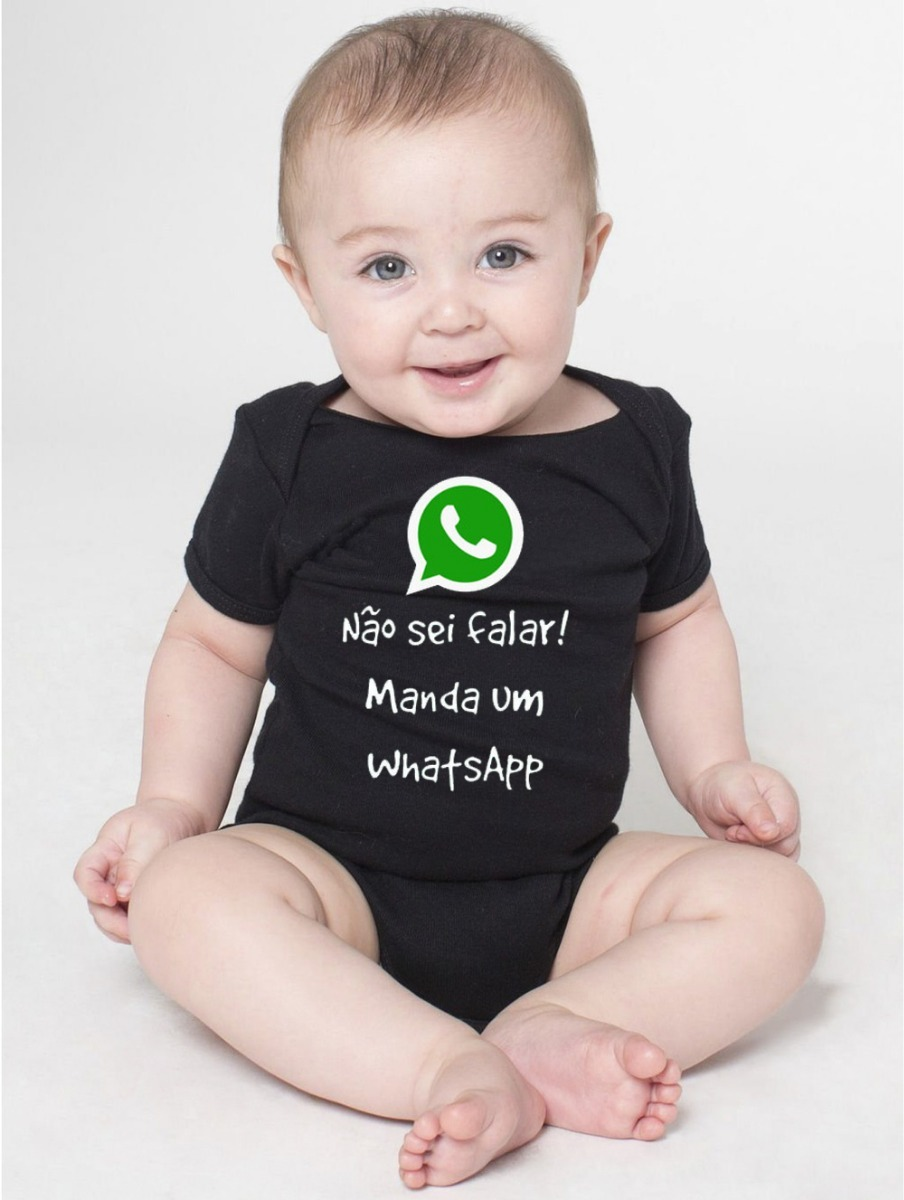 Body Bebe Nerd Geek Whatsapp Frases Engraçadas Roupas Bodi R 39