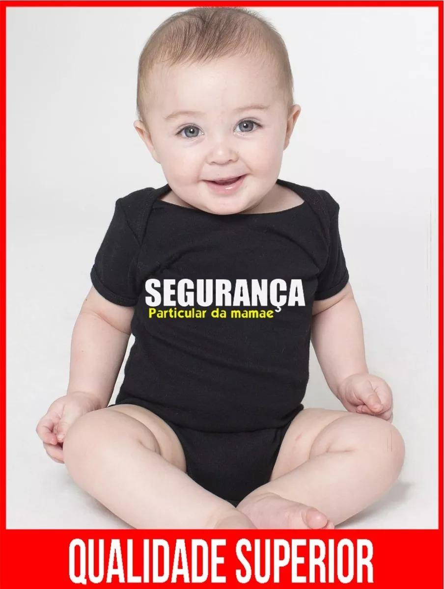 Body Bebe Segurança Da Mamãe Frases Recem Nascido Bodies R 4947