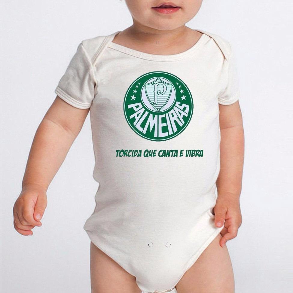 body bebe times palmeiras roupas menino menina recem 70d6559d3a4