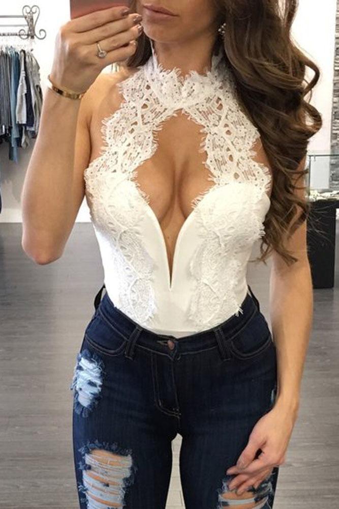 9764ff89c64dd Body Blusa Blanca Sexy Mujer Moda Regalo -   399.00 en Mercado Libre