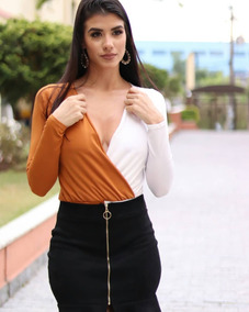 16a63c3b0 Blusa Decote Cavado Dimy Tamanho M - Camisetas e Blusas Body M para ...