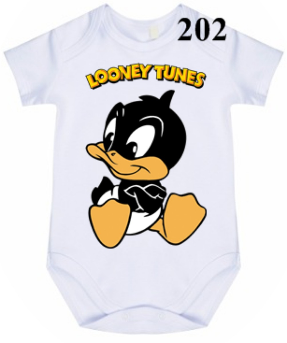 ef4d3ee24 body bodie infantil looney tunes patolino baby. Carregando zoom.