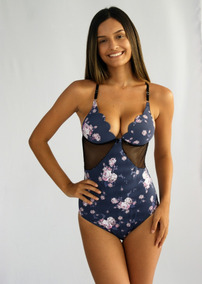 36c3dc20e Body Feminino Estampado Oncinha - Lingerie no Mercado Livre Brasil