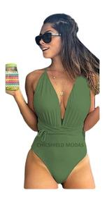 75b027c74b Maios Feminino - Moda Praia com o Melhores Preços no Mercado Livre ...