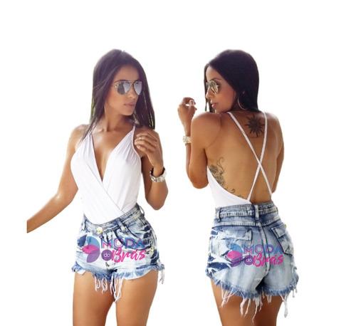 body bruna marquezine decote feminino alcinha com bojo!