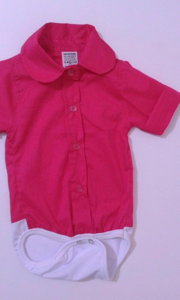 body camisa bebe menina menino manga curta - promocao tam p. Carregando  zoom. 49577ec13757