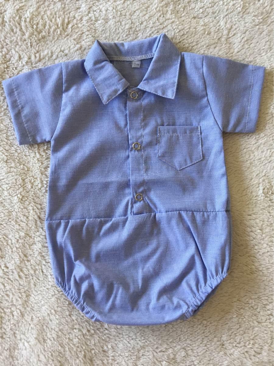 8ac4c63a1 body camisa celeste recién nacido. Cargando zoom.