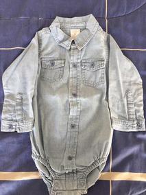 ea5381b4f Camisa De Jeans Para Bebe Mimo - Ropa y Accesorios Celeste en ...