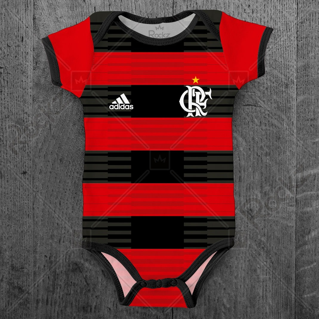 fc1b00e9aa42f body + camiseta flamengo infantil personalizado c  nome. Carregando zoom.