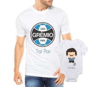 d716fd6b676880 Camiseta Tal Pai Tal Filho Grêmio Futbol Futebol Time Dia Do