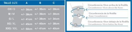 body care  rodillera elastica bc1100