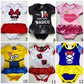 8e5025500 Body Bebe Minions Menino E Menina - Roupas de Bebê no Mercado Livre Brasil