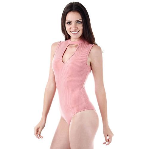 body choker feminino lara - rosa