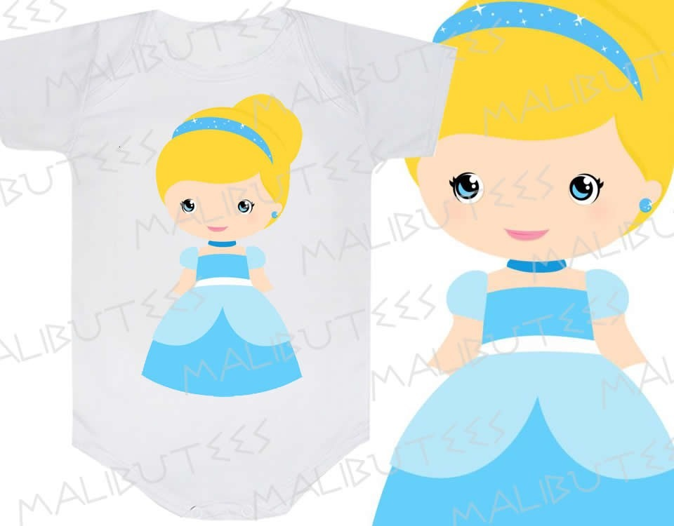 body cinderela princesa infantil personalizado personagens r 29