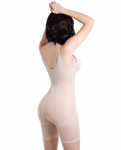 body colombiano enterizo modelador reductor 1387 beige