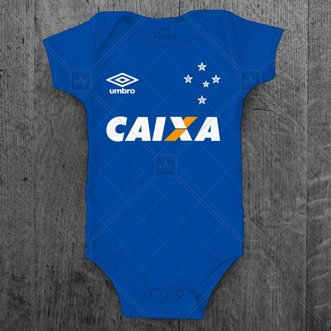 216051350dcec body cruzeiro infantil futebol personalizado c  nome bebê. Carregando zoom.