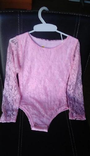 body de encaje para niña talla 10 - blusa