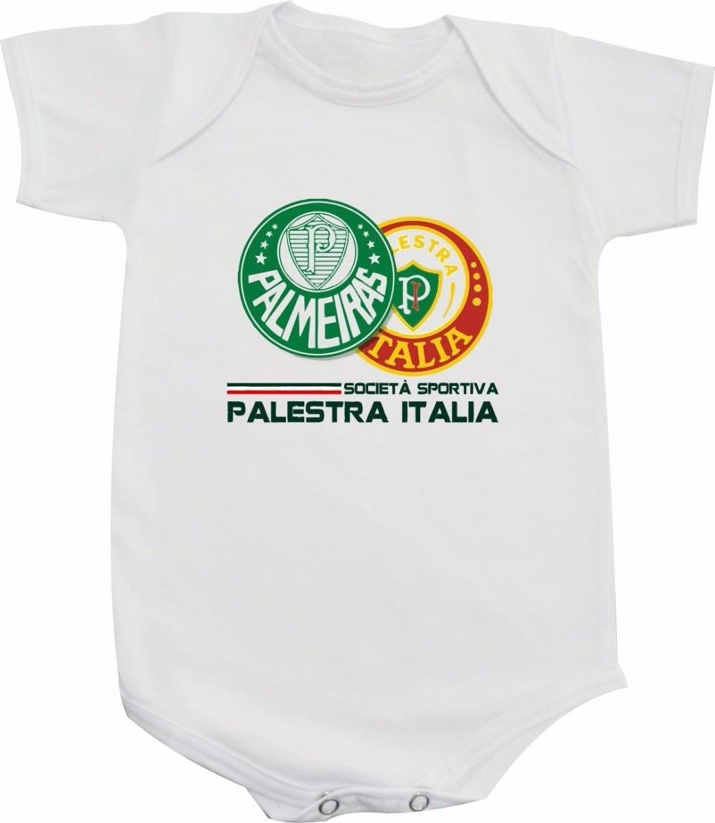d457851d671d9 Body De Time Palmeiras Verdão Palestra Bebê Ou Camiseta Infa - R  45 ...