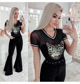 b39c7ffc7 Tule Desenhado - Camisetas e Blusas no Mercado Livre Brasil