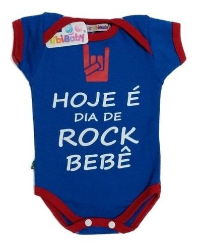 body divertido  hoje é dia de rock bebê