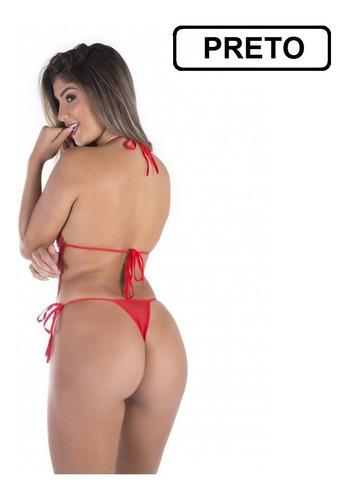 body em renda anita lingerie sensual + brinde tanga promoção