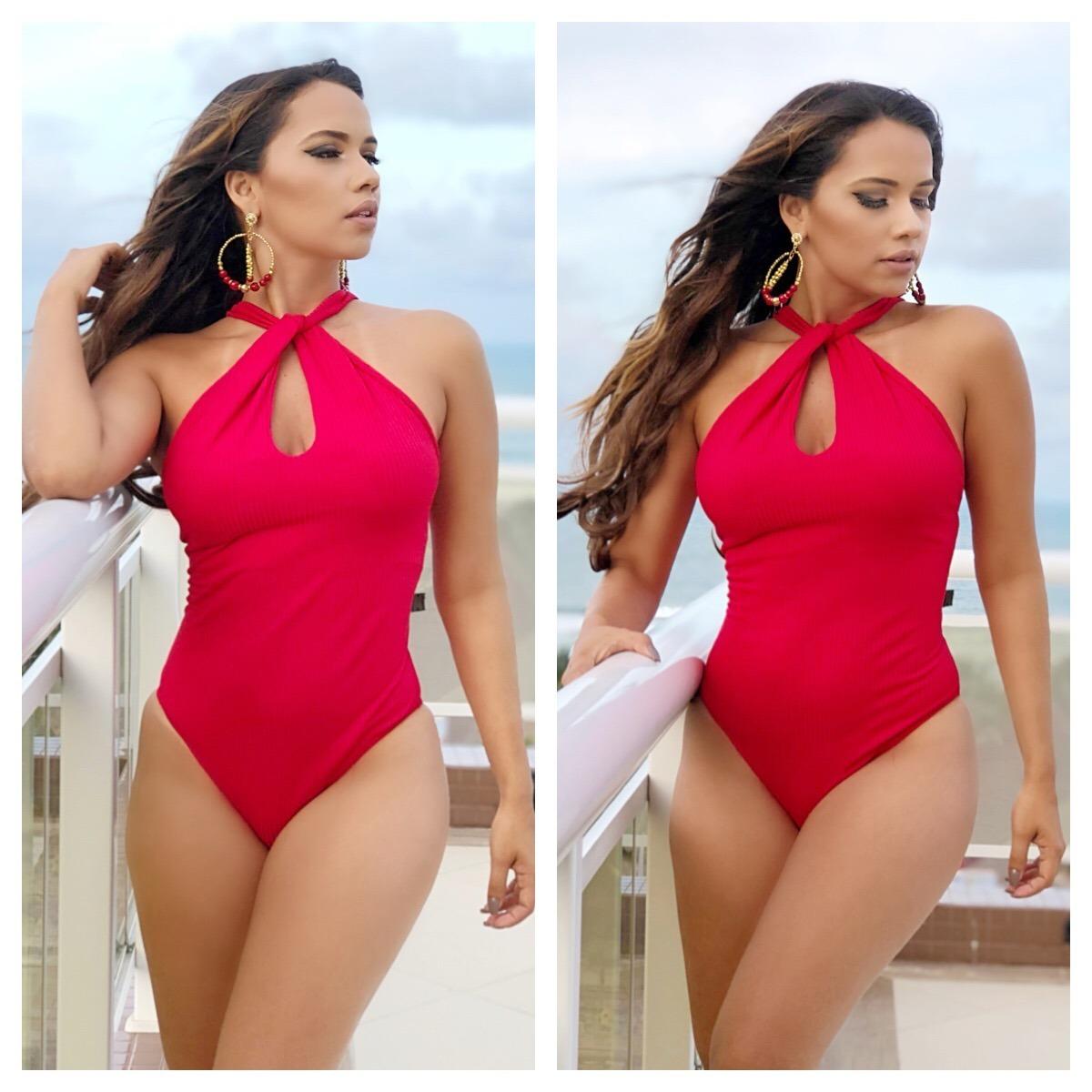 dc4587cb6 Body Feminino Decote Frontal Super Elegante - Moda Blogueira - R  43 ...