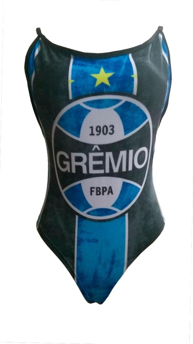 1d4bb19cb5 Body Feminino Grêmio Cavado Com Bojo Bori Time Grêmio - R  28