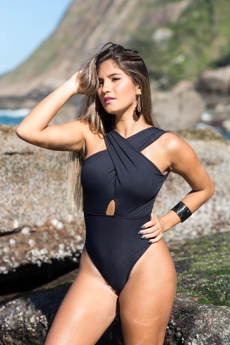 9e1201c65 Body Feminino/ Maiô Promoção C/ Bojo Removível Moda Praia - R$ 206 ...