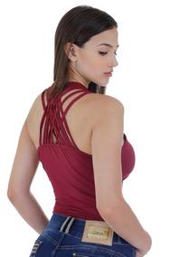 3a6762b44 Body Zigma - Camisetas e Blusas Body Feminino no Mercado Livre Brasil