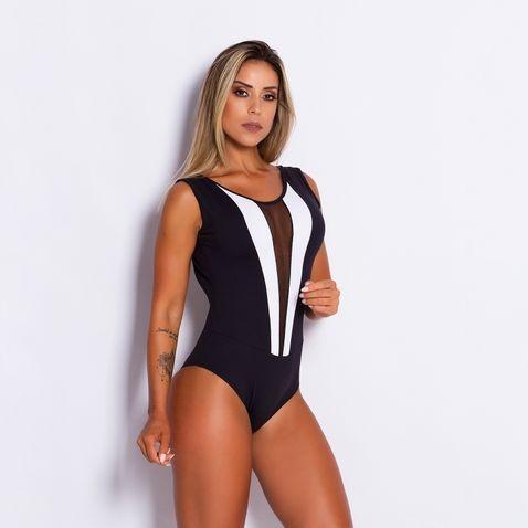 5d252dc45 Body Fitness Poliamida Fashion Tule By101 - R$ 39,90 em Mercado Livre