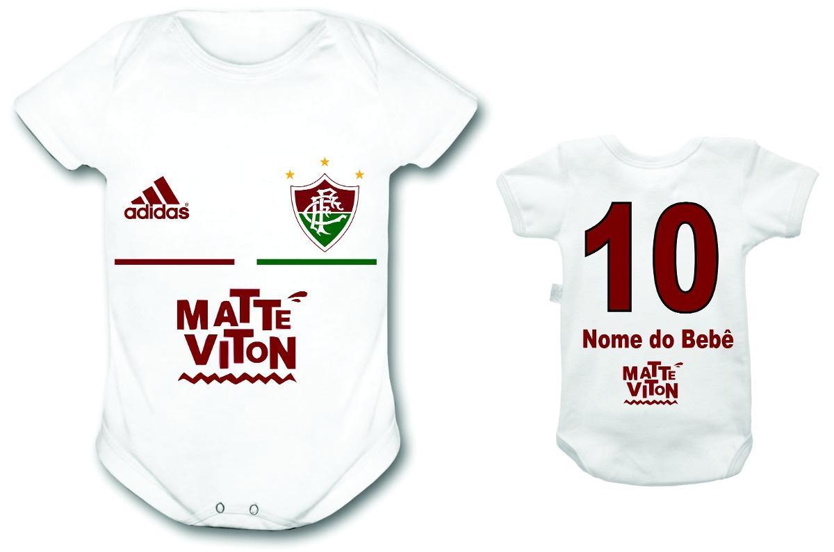 body fluminense time futebol bebê personalizado infantil. Carregando zoom. 2ec6d07c2b0e7