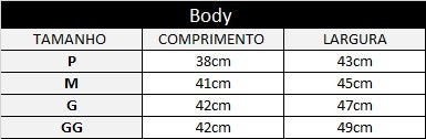 body  foto  - personalizado