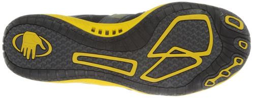 body glove hombre calzado de agua dynamo, negro-amarillo, 8