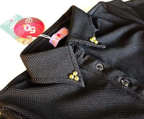 body haras mavolle cor preto texturizado