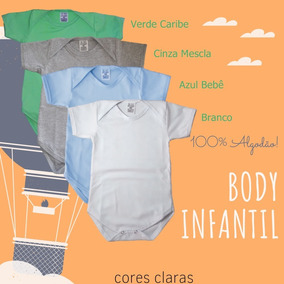 dafbef746 Body Liso No Atacado Para Personalizaçao,100/algodão - Bodies de Bebê no  Mercado Livre Brasil