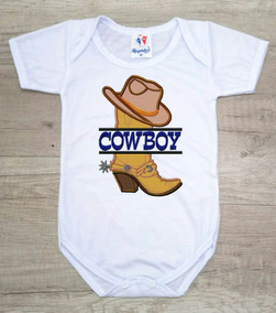 1408b01339a458 Body Infantil Bota E Chapéu Cowboy Azul Country Masculino