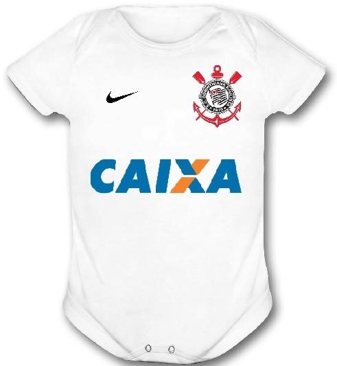 Body Infantil Corinthians Personalizado Com Nome E Número - R  34 ... facd849f5e6e7