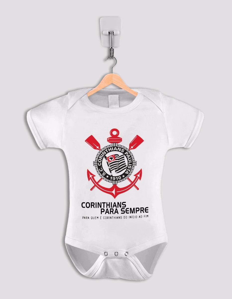 body infantil corinthians time roupa de bebê macacão. Carregando zoom. bf27ba04b0602