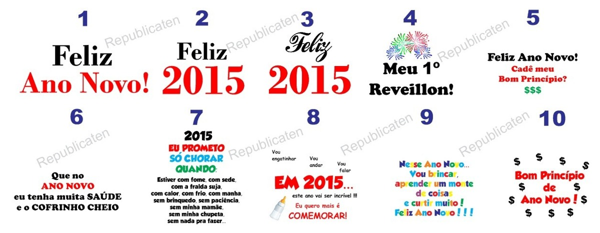 Body Infantil Feliz Ano Novo Bori Bebê Frases Reveillon 2015 R 29