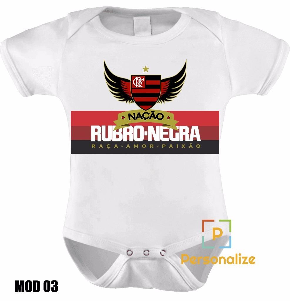 a77587ccfd body infantil personalizado camisa do flamengo com nome! Carregando zoom.