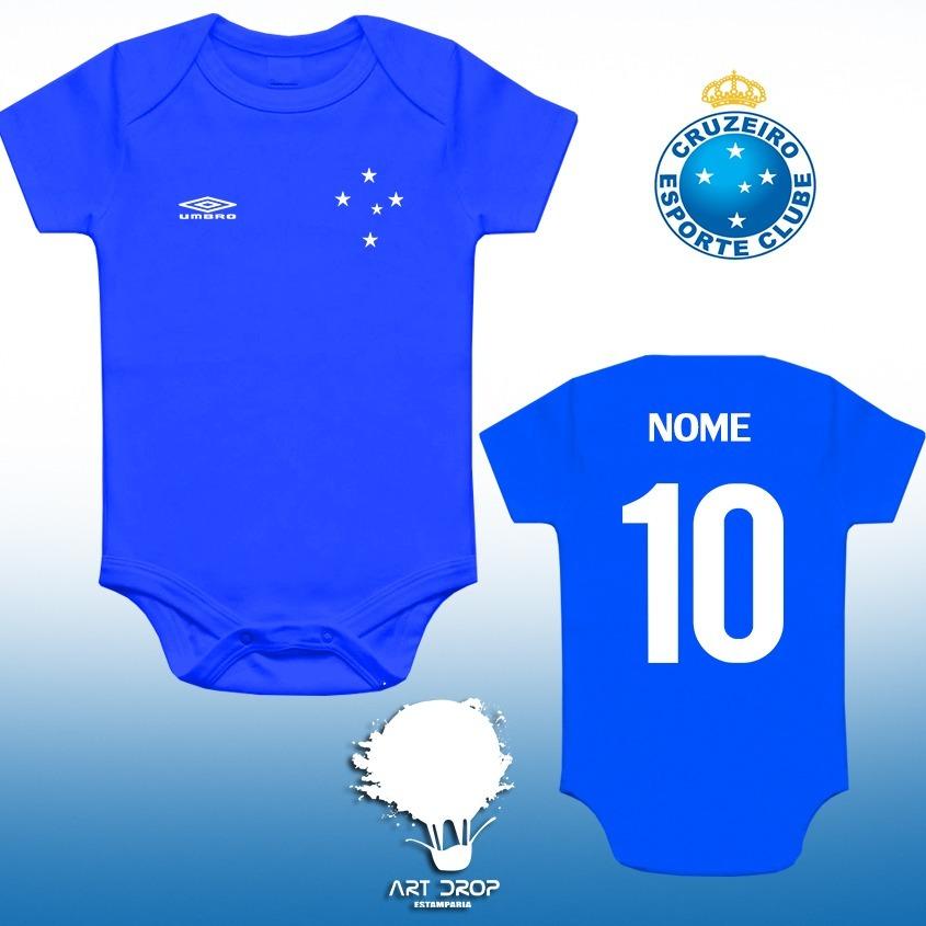 Body Infantil Personalizado Cruzeiro - R  35 5d484ffd04d