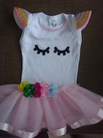 329420893 Roupa Personalizada De Unicornio Para Bebe Com Tule - Roupas de Bebê ...