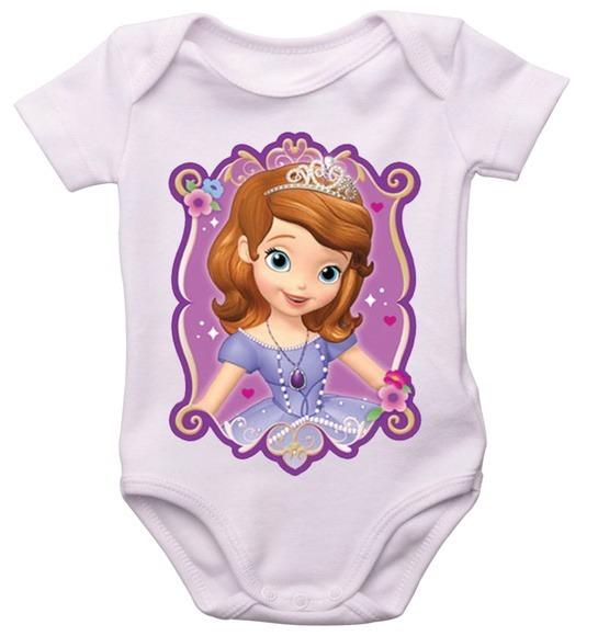 body infantil princesa sofia bori bebê tv desenho personagem r 23