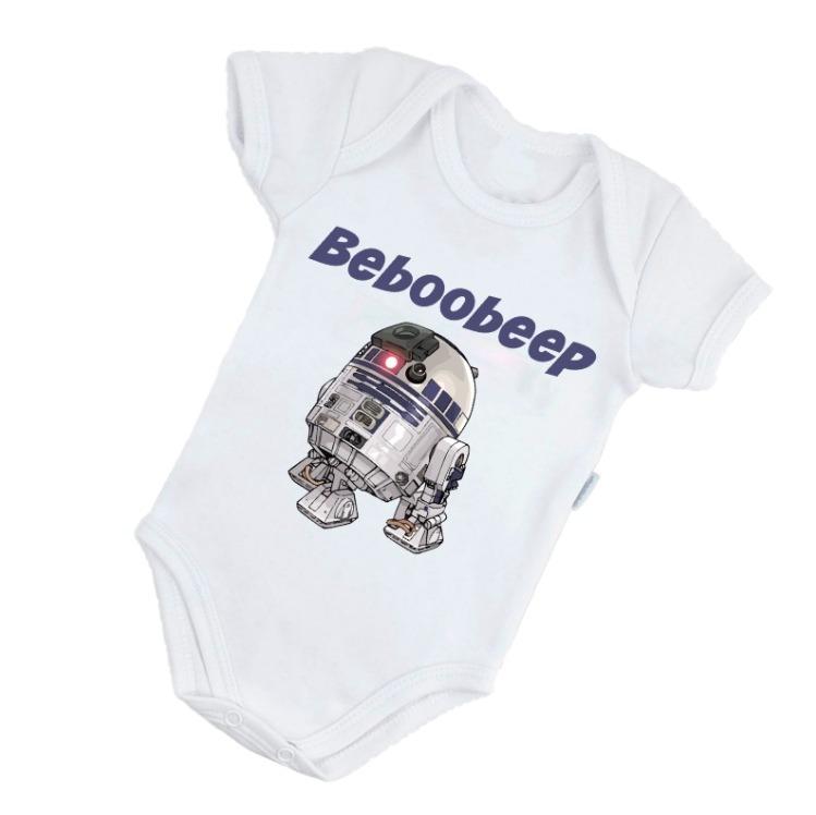 Body Infantil R2-d2 Star Wars Nerd Geek Engraçado B379br - R  32 a8f75d8b3c0